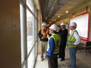 A visit from the MA School Building Authority